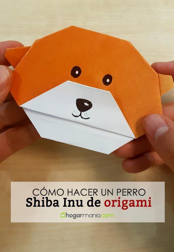 Cómo hacer un perro Shiba Inu de origami