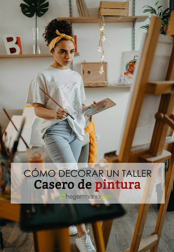 Cómo decorar un taller de dibujo y pintura en casa