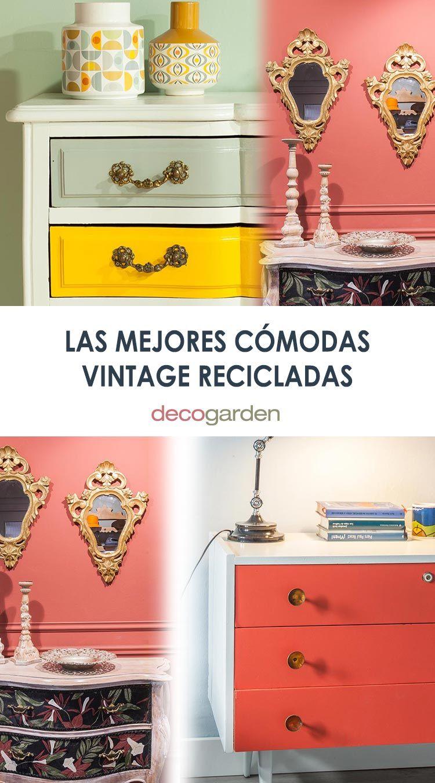 Las mejores cómodas vintage recicladas de Decogarden (temporada 2018-2019)