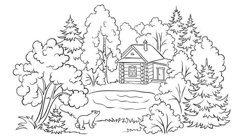 Dibujos De Otono Para Colorear Descarga Gratis Hogarmania