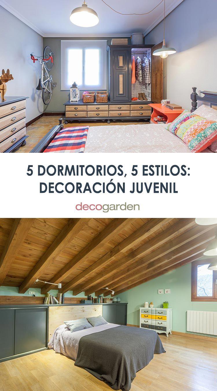 5 dormitorios, 5 estilos: Decoraciones juveniles de Decogarden (temporada 2018-2019)