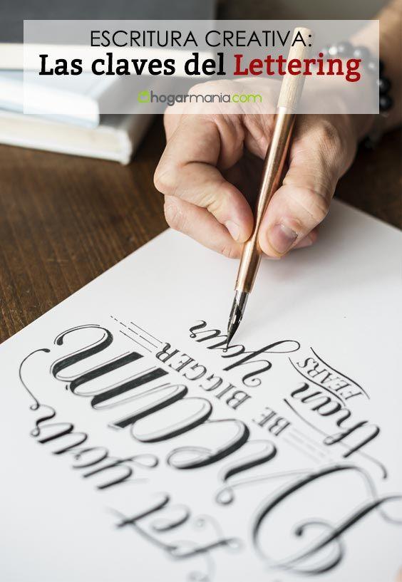 Aprende Lettering: las 5 claves para hacer caligrafía creativa