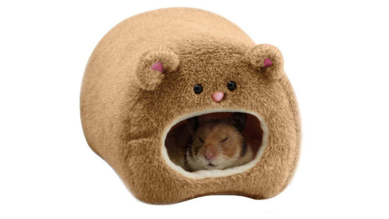 Cama cueva para roedores
