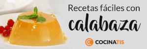 Recetas con calabaza en Cocinatis