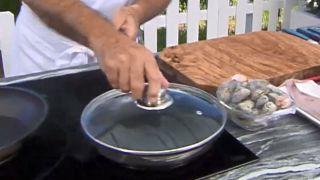 Cómo abrir las almejas