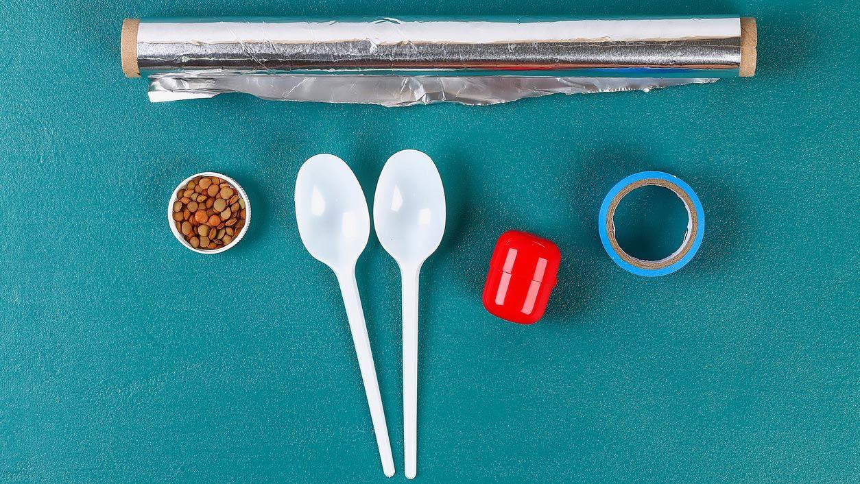 Materiales necesarios para elaborar unas maracas
