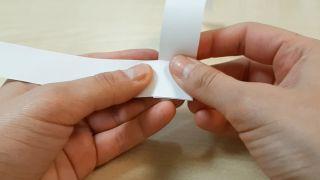 Cómo hacer un muelle de papel paso 3