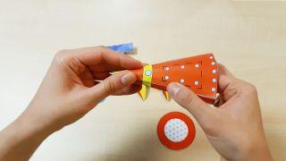 Cómo hacer un cohete de papel paso 5