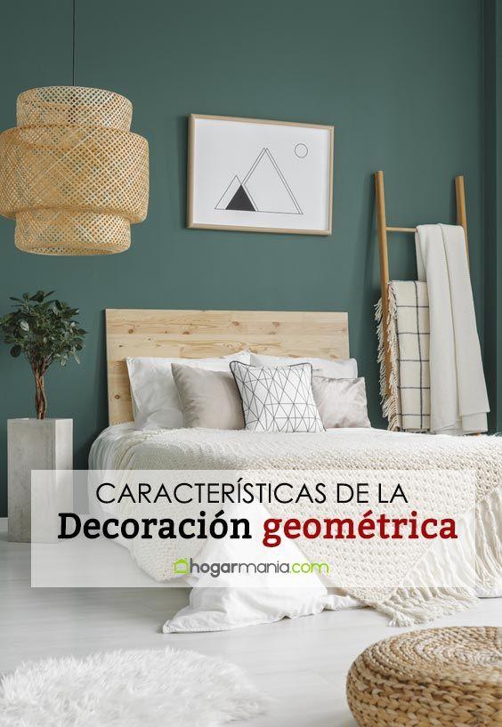 Decoración geométrica: Cuando cuadrados, esferas y triángulos adornan tu hogar
