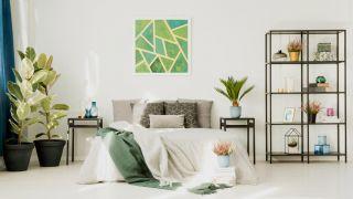Decoración geométrica: Cuando los cuadrados, esferas y triángulos adornan tu hogar
