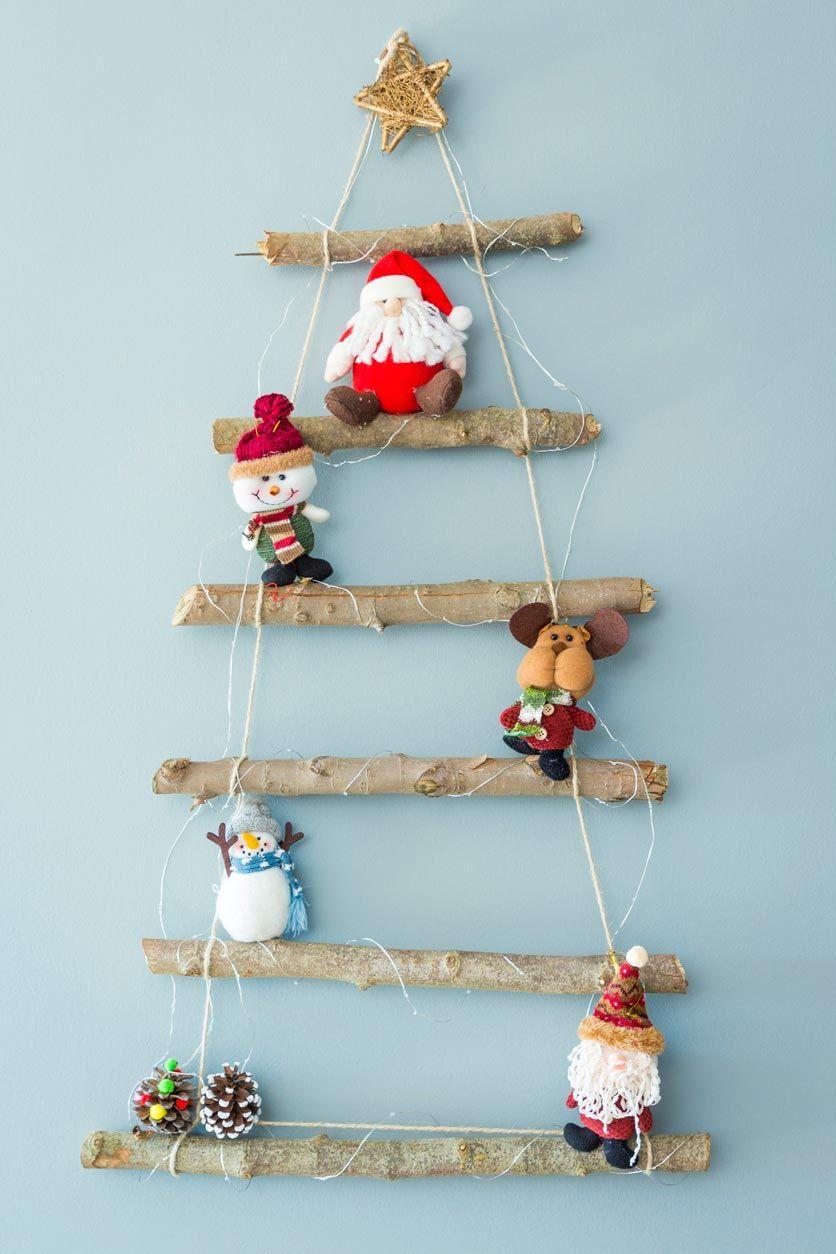 Árbol de Navidad con Driftwood