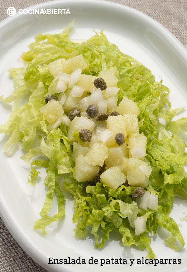 Ensalada de patata y alcaparras