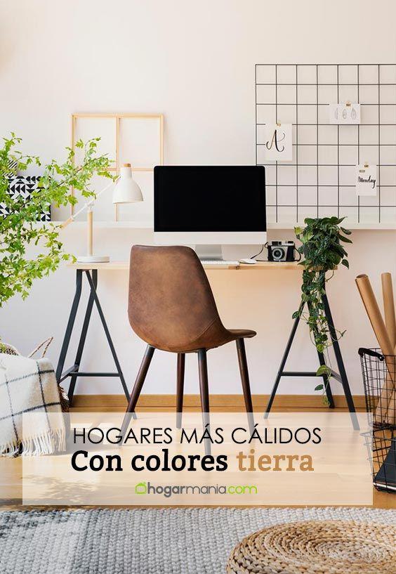 Colores tierra y arena para hacer tu hogar más cálido