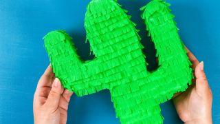 Cactus en 3D para guardar caramelos paso 5