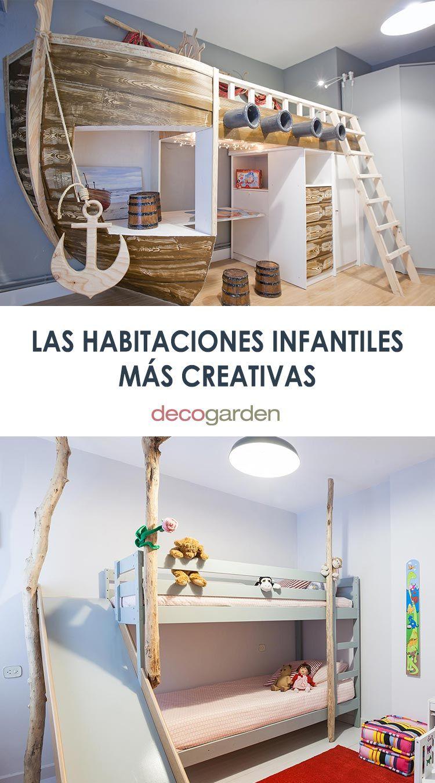 Las habitaciones infantiles más creativas de Decogarden
