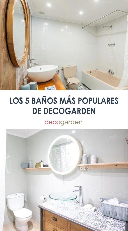 Los 5 cuartos de baño y aseos renovados sin obra más populares de Decogarden