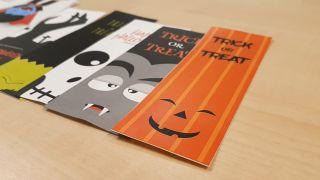 Marcapáginas de Halloween, ¡descarga e imprime! truco 3