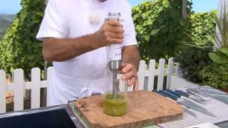 Pesto de tomate y albahaca - Paso 5