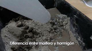 Diferencias entre hormigón y mortero