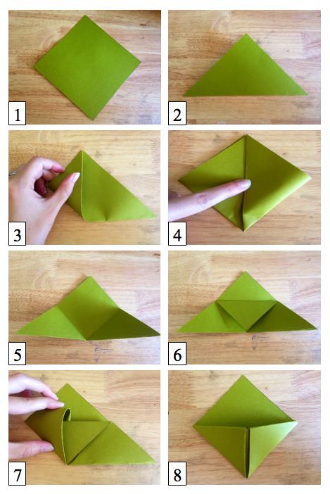 Cómo elaborar Corner Bookmarks o marcapáginas de esquina