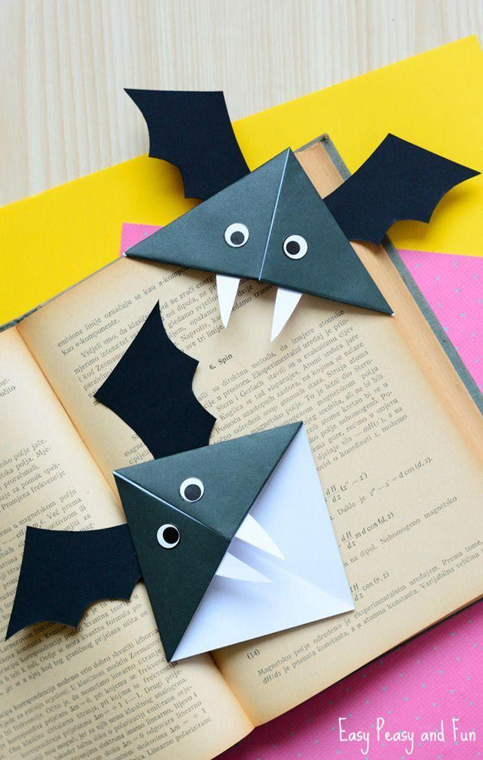 Corner Bookmark murciélago