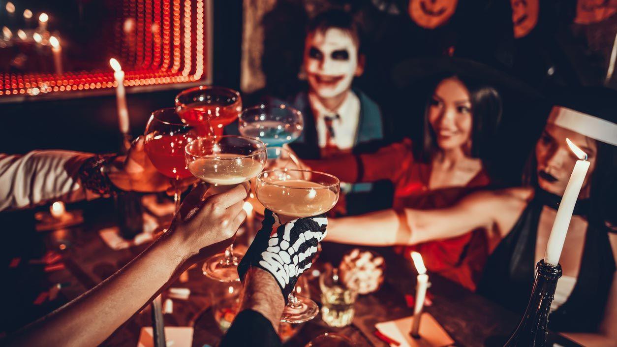Decorar un bar para Halloween