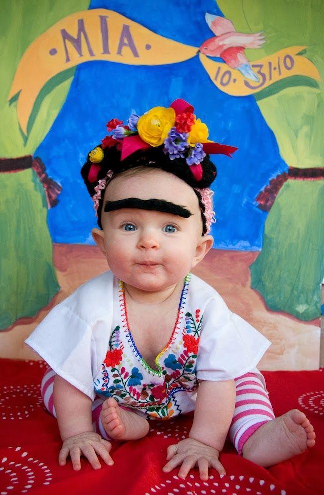 Disfraz Frida Kahlo para bebés