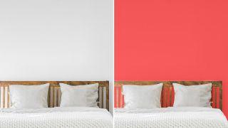 ¿Quieres un dormitorio relajante y actual? No utilices estos colores para pintar la pared