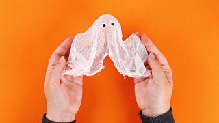 Cómo hacer un fantasma que levita paso 6