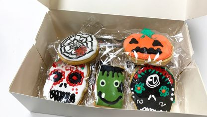 Receta de Galletas decoradas para Halloween