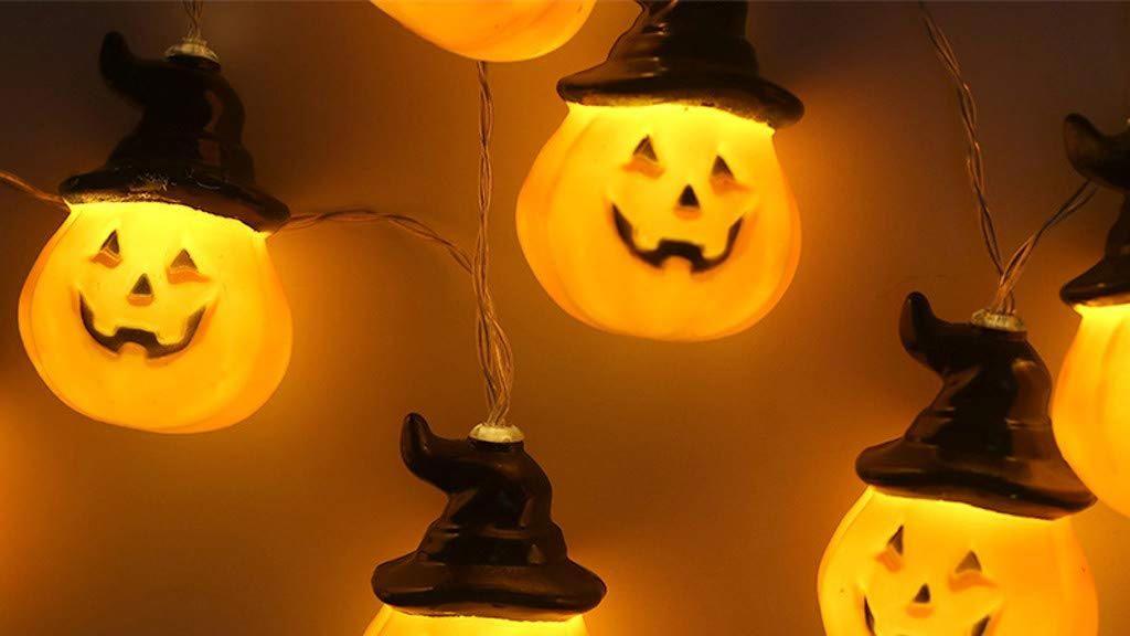 Guirnalda de luces de Halloween
