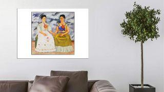 5 Láminas de Frida Kahlo para decorar en tu hogar