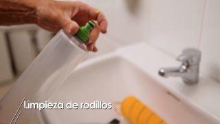 Cómo limpiar los rodillos después de pintar
