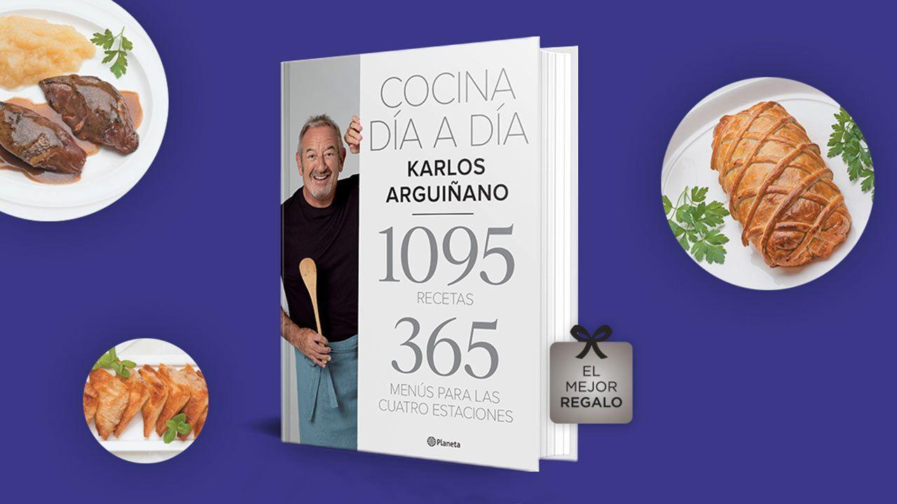 Cocina día a día, el nuevo libro de Karlos Arguiñano (ed