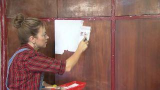 Cómo pintar mueble de madera - Paso 2