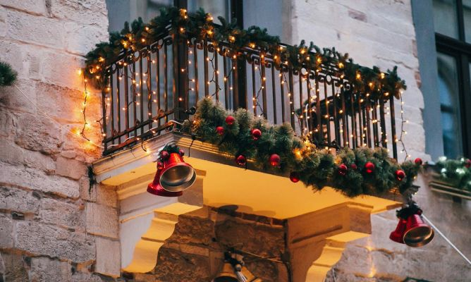 Decoración Navideña Para Terrazas Y Balcones Hogarmania