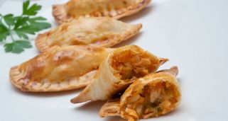 Empanadillas de at�n al horno