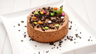 Tarta mousse de chocolate y café
