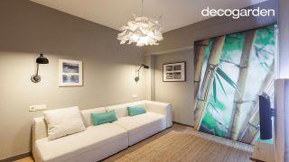 Transformar un dormitorio anticuado en un salón con decoración zen