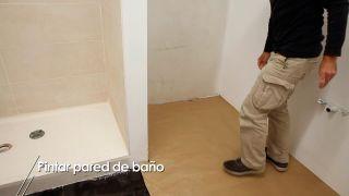 Cómo se pintan las paredes del baño