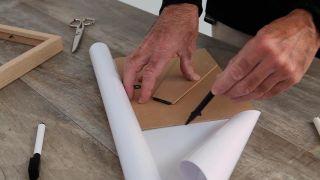 Cómo hacer una pizarra de rotuladores reutilizando un marco