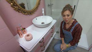 Cómo hacer un mueble de baño a partir de una cómoda de segunda mano - Paso 7