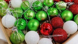 Como pintar tus propias bolas de Navidad - Truco 3