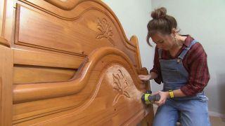 Decorar habitación de invitados en madera y aires escoceses - Paso 7