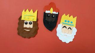 Reyes Magos de fieltro - Paso 8