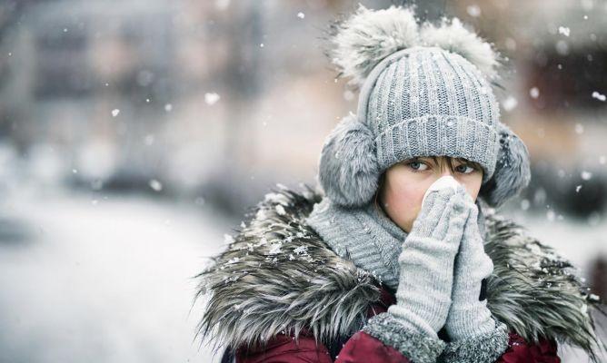 Alergia al frío: síntomas y prevención
