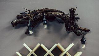 Cómo hacer un botellero de madera personalizado - Paso 9