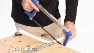 Cómo doblar tubos - Paso 1