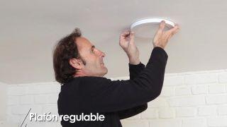 Cómo colocar un plafón regulable - Paso 5