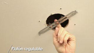 Cómo colocar un plafón regulable - Paso 6
